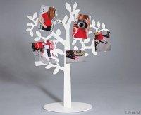 Stojak-drzewko na zdjęcia i wiadomości z magnesam