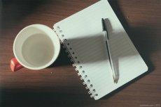 długopis i notes